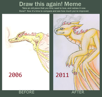 Improvement Meme by meroaw