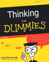 Thinking For Dummies by silentplague