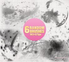 Random Brushes - 3112 by Missesglass