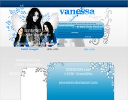 Vanessa Hudgens Layout by GreenSlOw