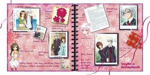 Zero and Yuuki Scrapbook Challenge by BlueBell-Sumi