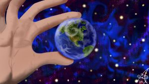 The world at my fingertips by ahniton