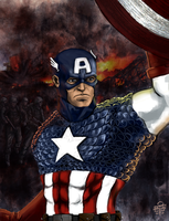 Steve Rogers by leseraphin