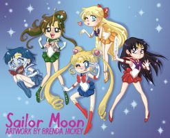 Sailor Senshi by BrendaHickey