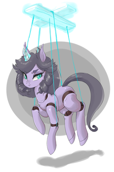 New Marionette OC by TwitchyKismet