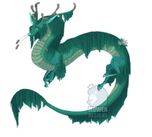 Pond Dragon [CLOSED] by MowenDesigns