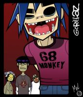 Gorillaz - Group image by 2Dark