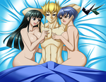 Commission: Yugioh Bed Scene 2 by jadenkaiba