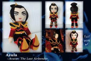 Doll- Azula LATEST VERSION by phychoticsilence