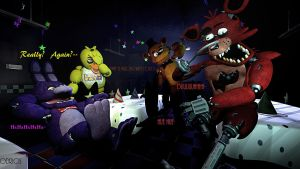 Foxy? What Are You Doing!!!!! by Odrios