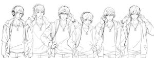 Free! Sketch by Monsohot
