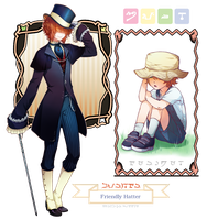 MAGE: Nifl- Friendly Hatter by avodkabottle
