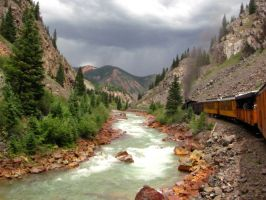Silverton Train by idlewild87