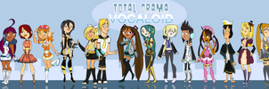 Total Drama Vocaloid by Zelyssu