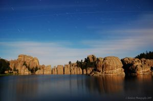 Sylvan Lake Satellite by Corvidae65