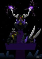 Pillarcons: Insecticons by Koilungfish