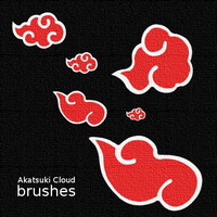 Akatsuki Cloud Brushes by Davn