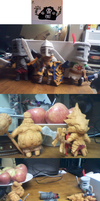Dark Souls Plushies Return by owlizard