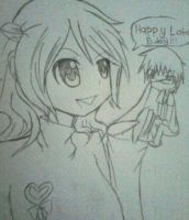 Happy Late B.Day NyricanJr by CrystalHanaHM2013