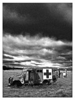 the old army ambulance by deepset