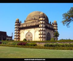 The Great Gol Gumbaz by sandeep-hegde