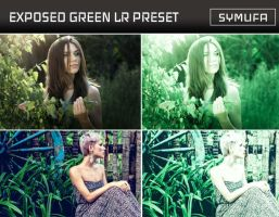 EXPOSED GREEN LIGHTROOM PRESET  0024 by symufa
