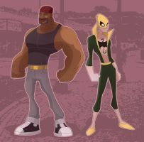 Heroes for Hire by alexsantalo