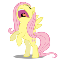 Fluttershy- Scream by Fluttertroll
