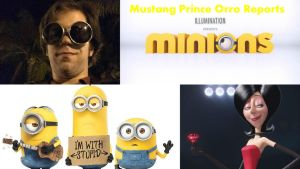 Mustang Prince Orro Reports Minions by montey4