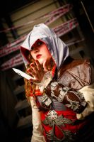 Female Ezio II by MagicYuu