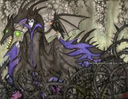 Sleeping Beauty: Mistress of All Evil by MannaKana