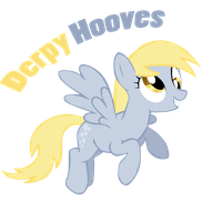 Derpy Hooves Vector by totalcrazyness101