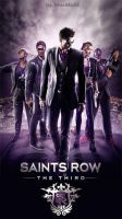 Saints Row: The Third for Nokia wallpaper by Blackbad