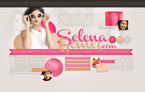 Selena Gomez Layout by littlebutterflyxxx