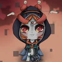 Chibi Midna by GothKat11234