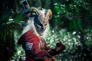 Blood for the Qun by PinkJusticeCosplay