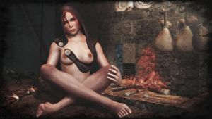 Dragon Age Inquisition - sexy Leliana by ethaclane