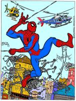 Spider-Man Spider-Bots in Color by EJJS