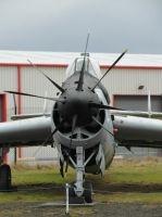 Fairey Gannet - Midland Air Museum by PhilsPictures