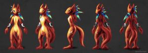 concept squirrel by KP-ShadowSquirrel