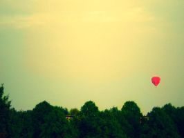 hot airballoon by hushstarberry