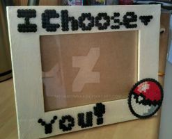 Pokemon photo frame by MeowMowRaa