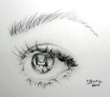 graphite eye - 1 by coley-smuts
