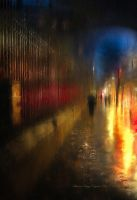 Rainy Night In Paris by SharonLeggDigitalArt