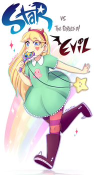 Star VS the forces of Evil by Bananaproduction