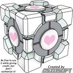 Weighted Companion Cube 2 by CsioSoft