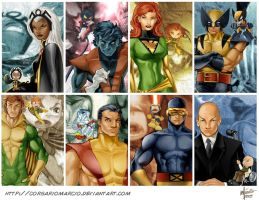 X-Men adultos by Corsariomarcio