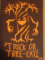 trick or tree-eat by stevie-devlin