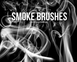 Smoke brushes by skatercolors