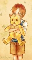 Christopher Robin + Pooh Bear by FrauV8